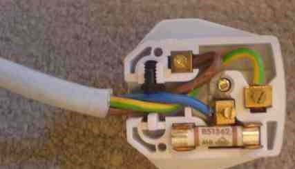 Plug Incorrectly Wired up